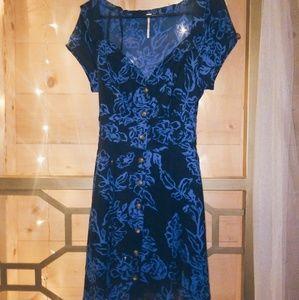 🌼2/$30🌼 free people blue dress